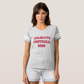 Jersey de la mamá del fútbol de los gatos monteses