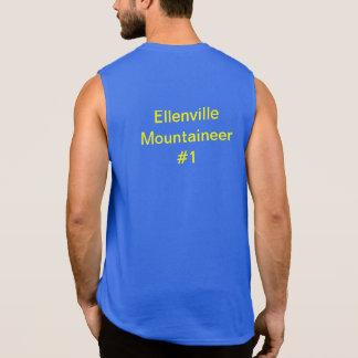 Jersey del baloncesto del montañés de Ellenville Camisetas Sin Mangas