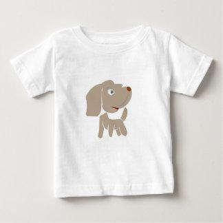 Jersey del bebé del perro de Browny