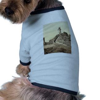 Jersey, faro de Corbiere, III, Islas del Canal, Camiseta De Perrito