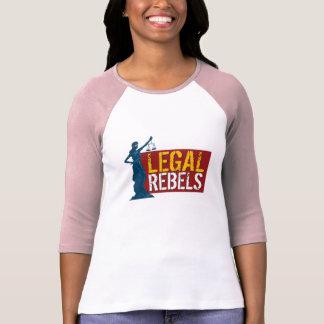 Jersey legal T de la señora justicia de los rebeld Camiseta
