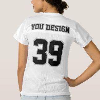Camisetas de fútbol americano de mujer
