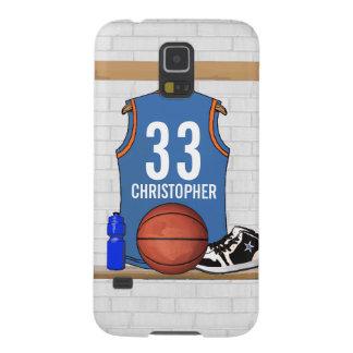 Jersey personalizado del baloncesto (LBO) Funda Para Galaxy S5