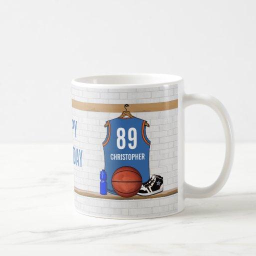 Jersey personalizado del baloncesto (LBO) Tazas