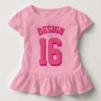 Jersey rosado de los deportes del niño el |