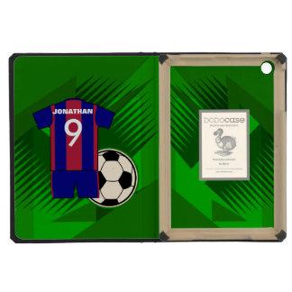 Jersey y balón de fútbol personalizados