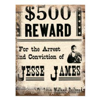 Jesse querido James Postal