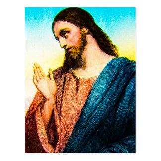 Jesucristo el cordero del vintage de dios postal