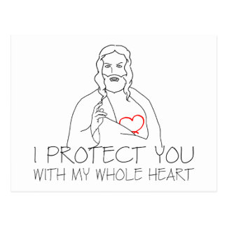 Jesucristo - le protejo postal