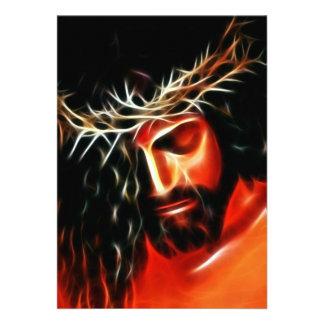 Jesucristo que llora para usted anuncio