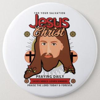 Jesucristo que ruega el botón diario