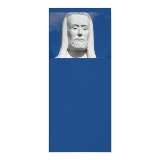 Jesucristo religioso invitación 10,1 x 23,5 cm