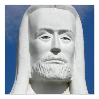 Jesucristo religioso invitación 13,3 cm x 13,3cm