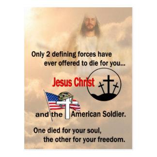 Jesucristo y el soldado americano