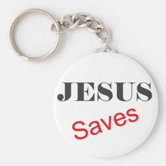 Jesús ahorra llavero