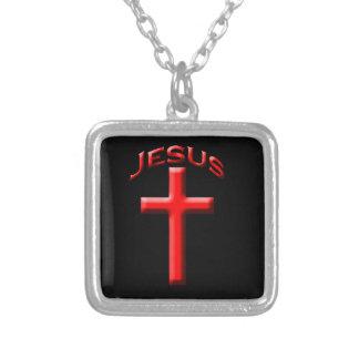 Jesús Collar Plateado