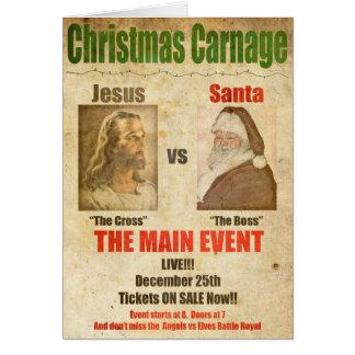 Jesús contra Santa Felicitacion