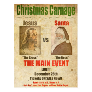 Jesús contra Santa Postal