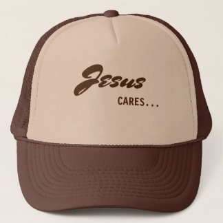 Jesús cuida el gorra del camionero