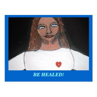 JESÚS:  CÚRESE POSTAL