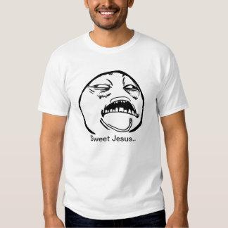 Jesús dulce camisetas