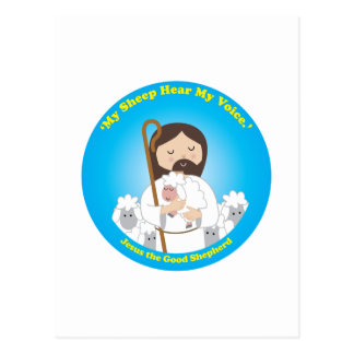 Jesús el buen pastor postales