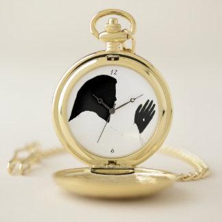 JESÚS ÉL ME TOCÓ reloj de bolsillo