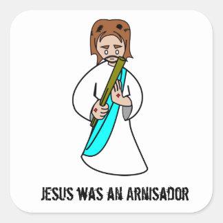 Jesús era pegatina de Arnisador
