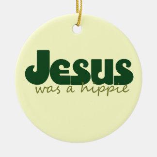 Jesús era un hippie ornaments para arbol de navidad