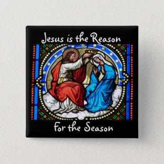 Jesús es el botón del navidad de la razón