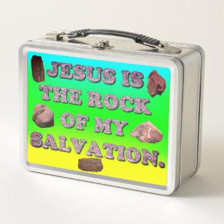 Jesús es la roca de mi salvación