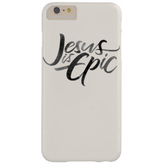 Jesús es tinta épica que pone letras a caligrafía funda barely there iPhone 6 plus