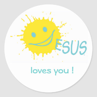 ¡Jesús le ama! Pegatina