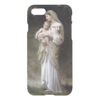 Jesús, Maria y el cordero Funda Para iPhone 7