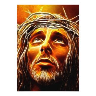 Jesús: Mi dios porqué téngale abandonado me Invitación 12,7 X 17,8 Cm