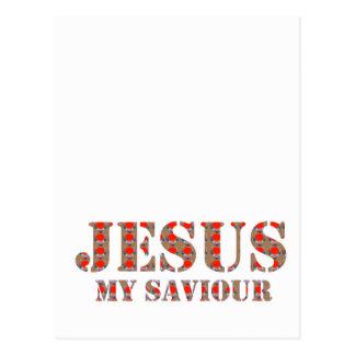 JESÚS mi salvador: ESPERANZA de la religión de los Postal