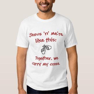 """Jesús """"n"""" yo - camiseta/sudaderas con capucha - camisetas"""