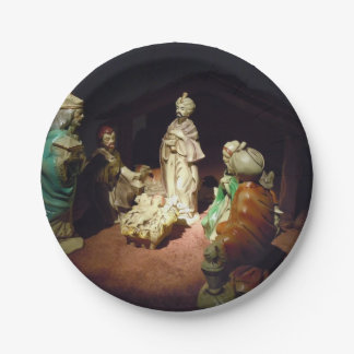 Jesús nace plato de papel