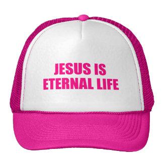 Jesús para mujer es gorra de la vida eterna