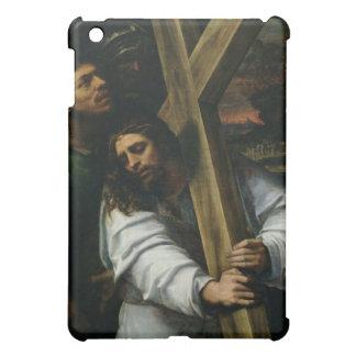 Jesús que lleva la cruz, c.1535 (aceite en el pane