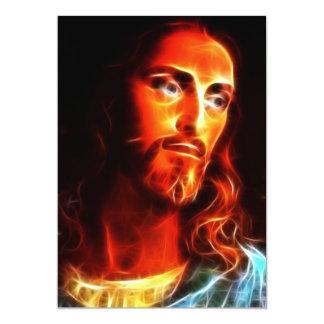 Jesús que piensa en usted invitación 12,7 x 17,8 cm