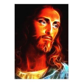 Jesús que piensa en usted invitacion personalizada