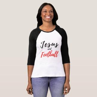 Jesús y la camiseta de las mujeres del fútbol