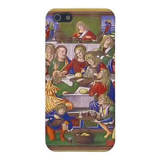 Jesús y sus amigos iPhone 5 fundas
