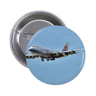 Jets de los aeroplanos chapa redonda 5 cm