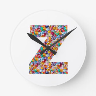Jewel los regalos de cumpleaños tachonados de reloj redondo mediano