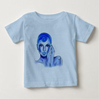 Jewellisina V1 - tesoro azul Camiseta De Bebé