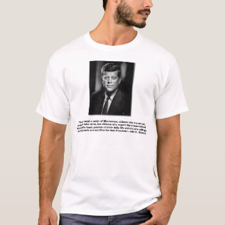 JFK. Las derechas del arma Camiseta