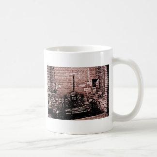jGibne de la chimenea de Stratford-sobre-Avon Taza Clásica