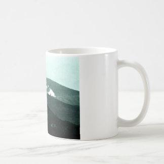 jGibne del arte snap-36430 de las montañas de Taza Básica Blanca